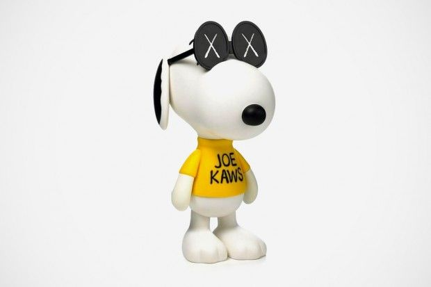 originalfake x peanuts 'joe kaws' snoopy [brian donnelly]