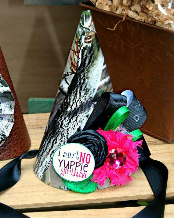 Duck Dynasty Birthday Party Hat Camo Aint by PrettyLittleWedding, $14.50