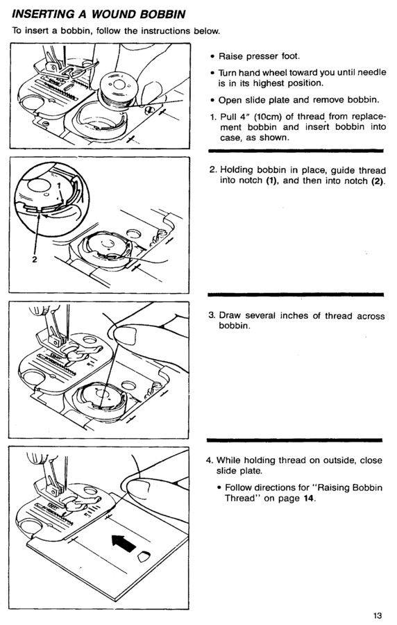 Singer 9005 9008 9010 Sewing Machine Threading Diagram