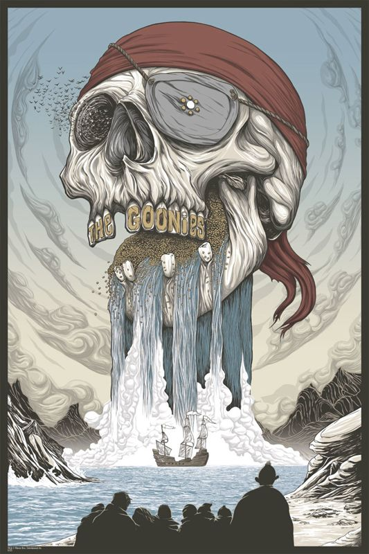 Awesome Goonies Poster! I WANT!!!