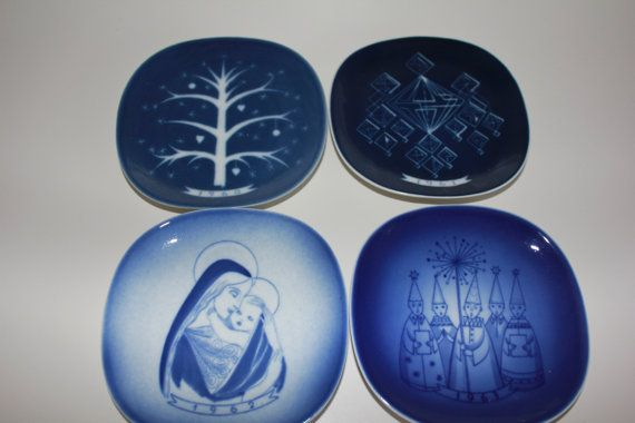 Highly Collectible Christmas Plate by Arabia by FinnishTreasures