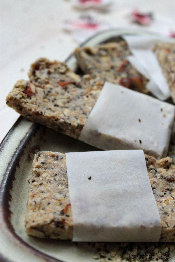 Zelfgemaakte proteïne repen met natuurlijke eiwitten| It's a Food Life