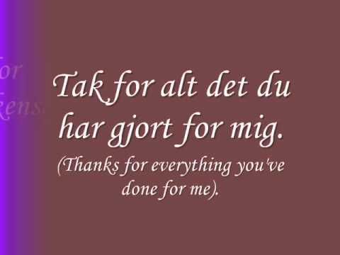 Learn danish language, some phrases