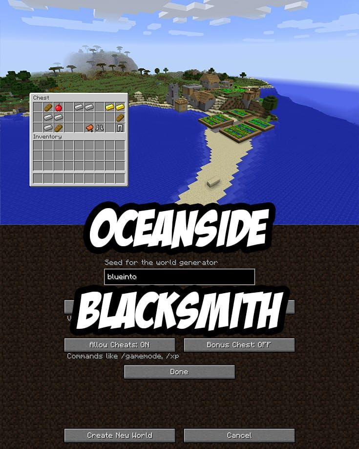 Oceanside Blacksmith with Great Loot. PC/Mac Seed:twtw