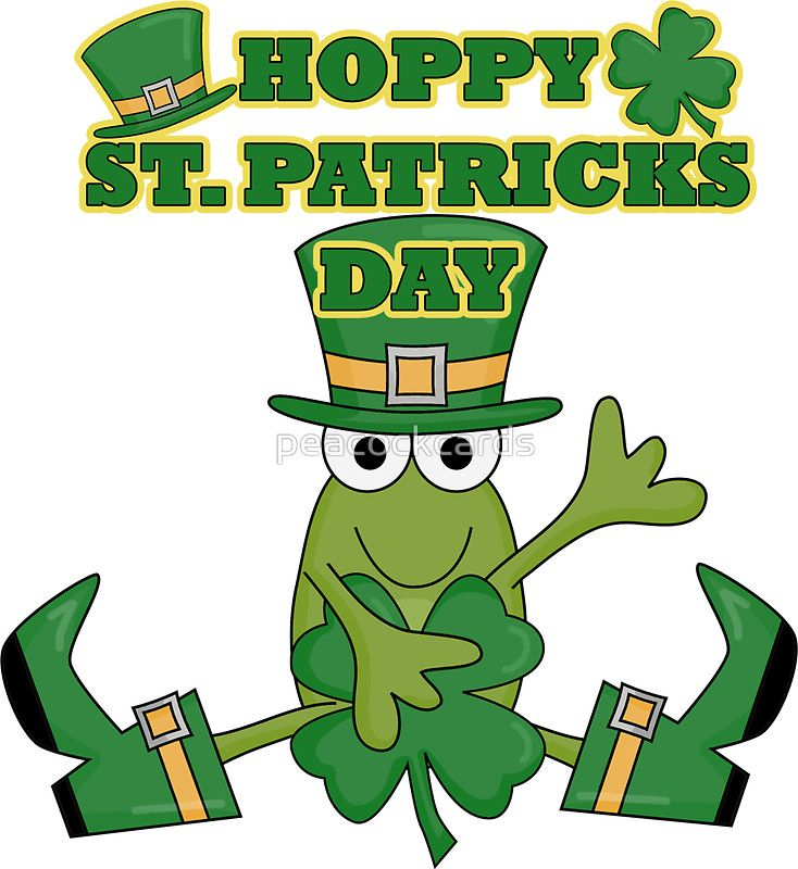 You St Thank Patricks Frog