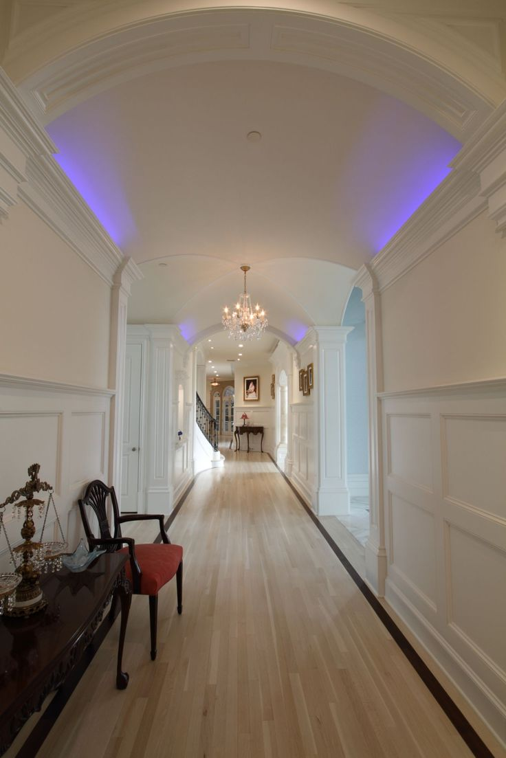 luxury home lighting. wonderful home this white hallway features stunning lighting completed by devance  electronic lifestyle luxedallas inside luxury home lighting g