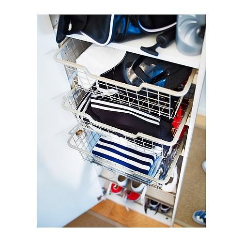 Ikea Komplement Wire Basket – Dekor