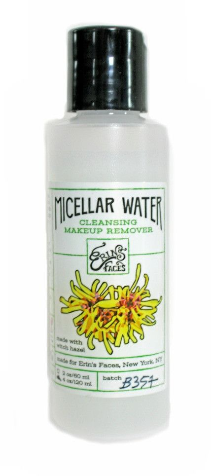 Micellar Cleansing Makeup Remover by erinsfaces | erinsfaces