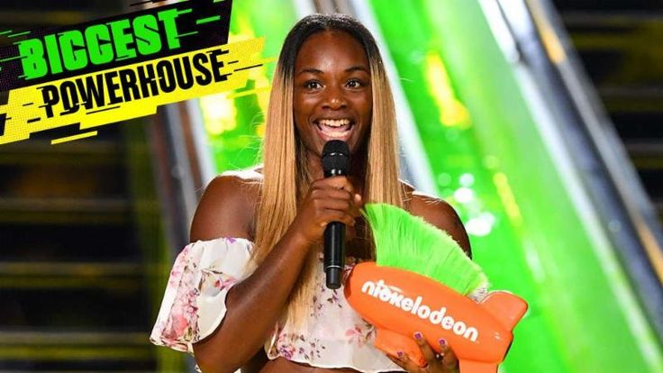 "http://realcombatmedia.com/2017/07/claressa-shields-named-2017-biggest-powerhouse-sports-nickelodeons-kids-choice-sports-awards/Follow Claressa Shields Named 2017 'Biggest Powerhouse' in Sports by Nickelodeon's Kids' Choice Sports Awards Budding women's boxing superstar, community activist, role model and two-time Olympic gold medalist, Claressa Shields has been bestowed with another honor, as she has been announced as the winner of the 2017 Nickelodeon Kids' Choice Sports Award for ""Biggest…"