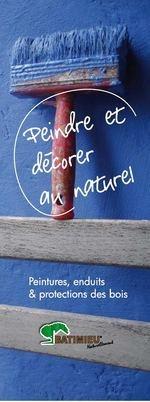 Peintures Naturelles et protection des bois Terre & Deco