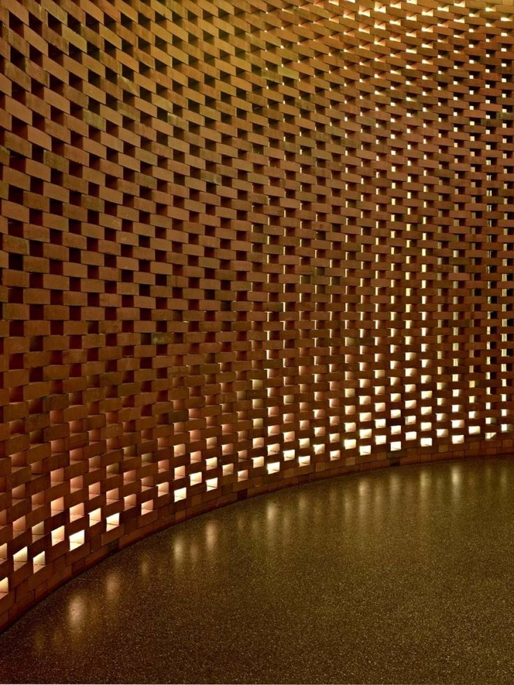 302 best perforated brick screen wall images on for Perforated brick wall
