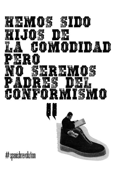 """""""Hemos sido hijos de la comodidad, pero no seremos padres del conformismo."""" #DomimgoDeLuto"""