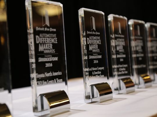 Awards at The Detroit Free Press Automative Difference