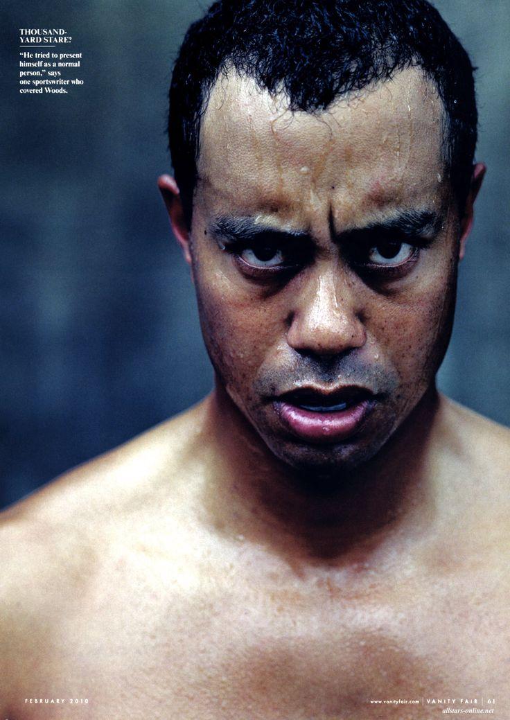 Tiger Woods, Annie Leibovitz photo