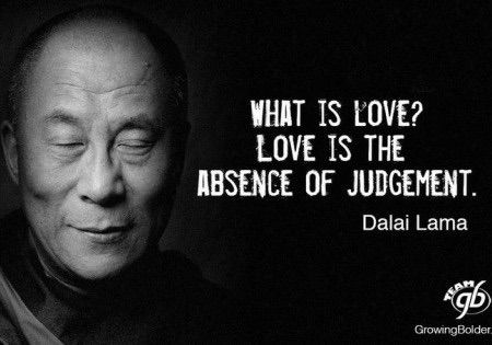 Just love your life. Don't judge it. Love!!!!