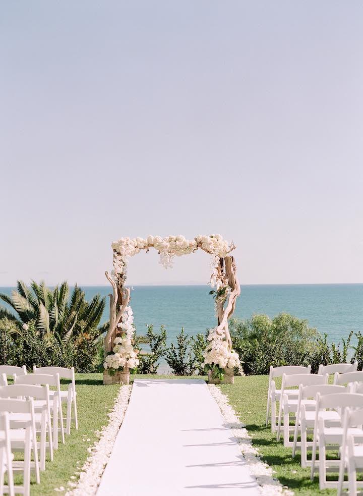 Elegant California Wedding At Bel Air Bay Club Ceremony IdeasBeach