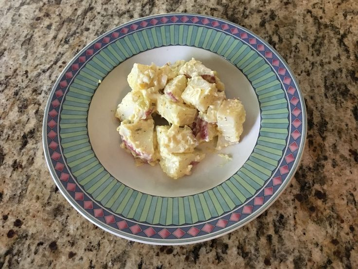 Potato salad has been an issue for me for a while. I have tried all kinds of recipes for it and have always been unsatisfied with the results. There is a grocery store near here that makes fantastic red potato salad, and I have been trying to duplicate it for a while, with no luck....