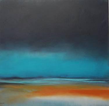 """Saatchi Art Artist Elena César Mata; Painting, """"Amanece en Juno"""" #art"""
