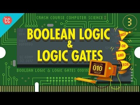 Boolean Logic & Logic Gates: Crash Course Computer Science #3 - YouTube