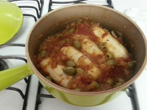 Recette de Quenelles à la sauce tomate et olives