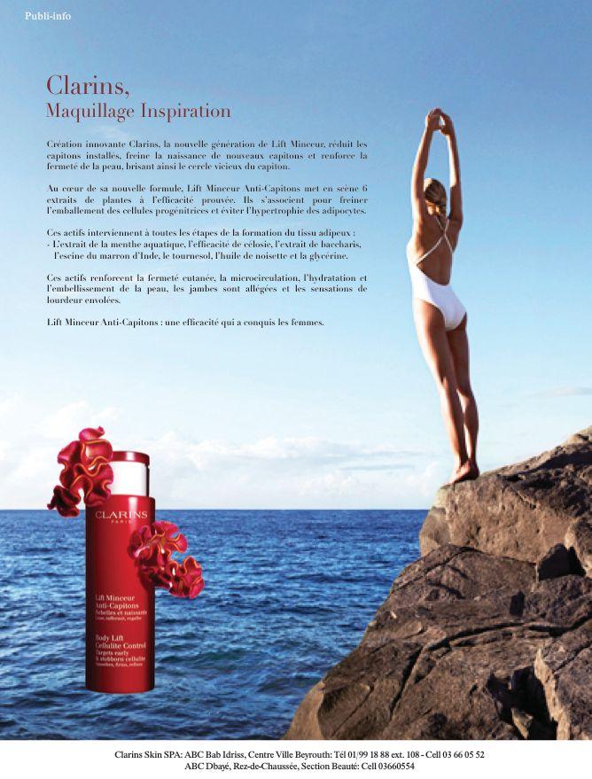 Maquillage inspiration - Clarins (publi-info)