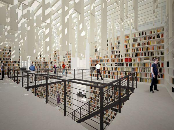 Daegu Gosan Public Library on Behance