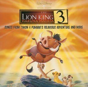 Lion King 3 Hakuna Matata