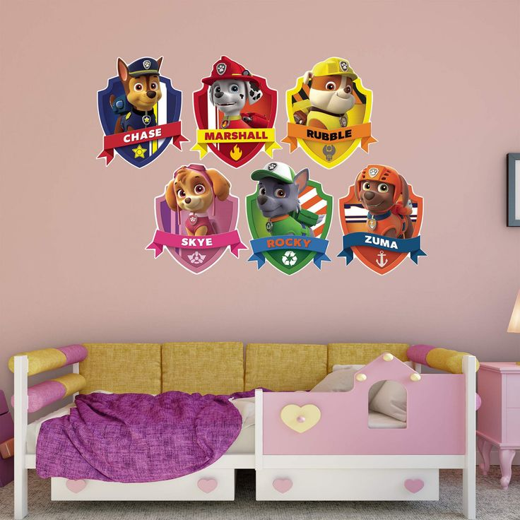 Fathead PAW Patrol PAW Patrol Shields Wall Decal Collection - 18-00071