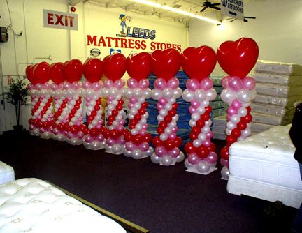 Nice Idea For Upcoming Valentine S Dance Balloon Arches