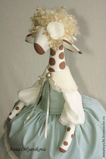Made of cotton. tinted.................Toy animals, handmade.  Fair Masters - handmade Tiffany.  Handmade.