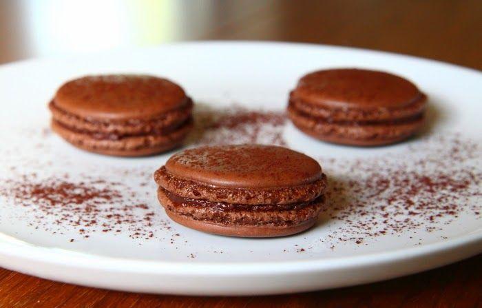 Chokolademacarons
