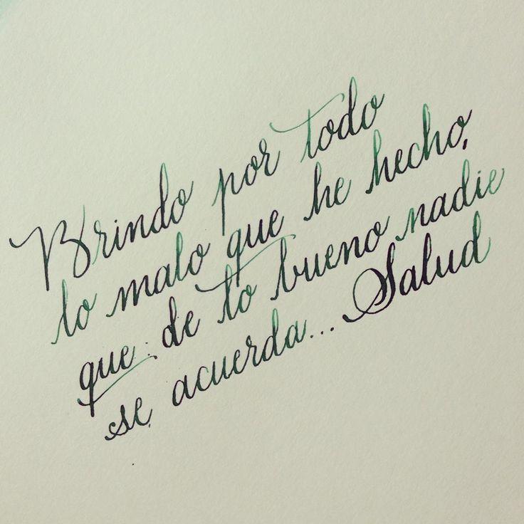 """""""Pues eso. Salud. #brindis #salud"""""""
