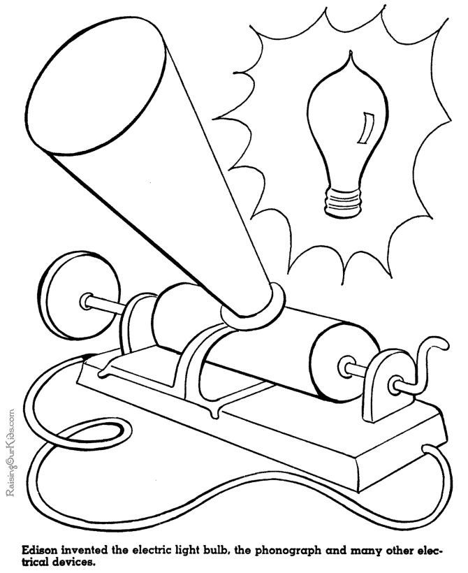 Thomas Edison Inventions - American History for kids 068