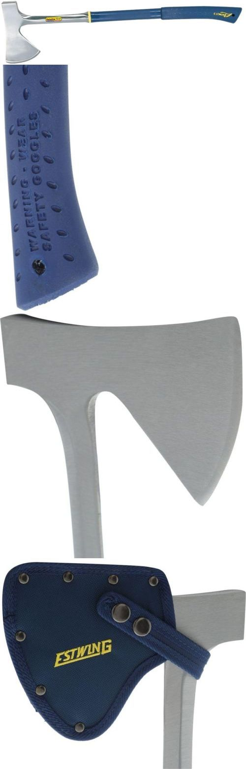 Camping Hatchets and Axes 75234: Camping Axe Nylon Vinyl Grip Handle Steel Head Shock Reduction Cut Chop Wood -> BUY IT NOW ONLY: $62.95 on eBay!