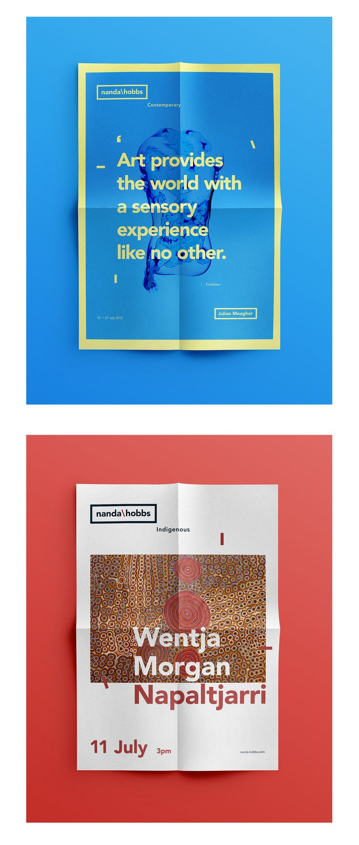 Design of the new identity & responsive website, and editorial content for Nanda\Hobbs Sydney's contemporary art gallery.Agency : Pollen SydneyRole: Art direction - Branding identity - Digital design - Interaction design
