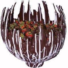 How To Make Chocolate Bowls