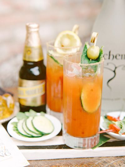 Cucumber Bloody Mary: http://www.stylemepretty.com/living/2015/05/09/15-brunch-cocktails-mom-will-love/