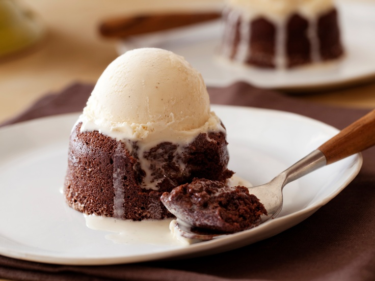 Molten Chocolate Cakes from CookingChannelTV.com