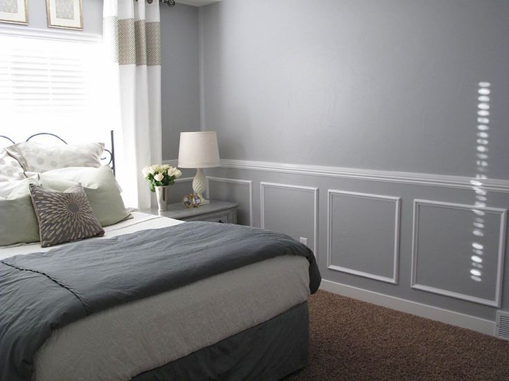 Decorate Stucco Moldings With Led Plaster And Polystyrene Modern Meets Classic Classic Dining Room Chair Rail Chair Rail Moulding Master Bedroom Makeover