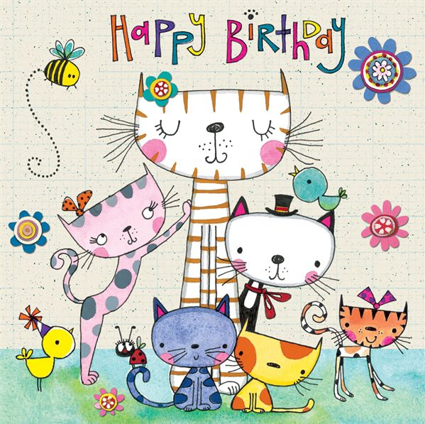 Happy Birthday to a Cat lover.