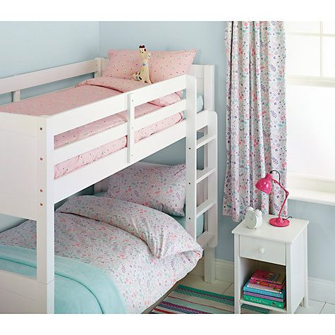 Buy little home at John Lewis Enchanted Garden Single Duvet Cover and Pillowcase Sets, Twin Pack Online at johnlewis.com