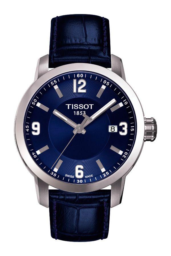 Catálogo de relojes Tissot para hombre y mujer: Reloj Tissot PRC 200 para hombre en tres agujas T055_410_16_047_00