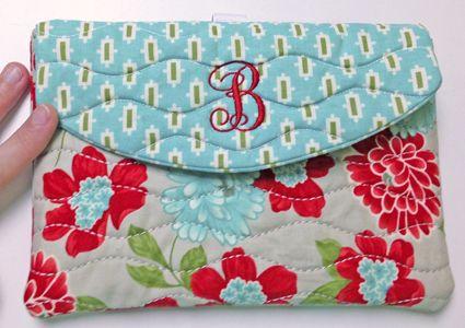 In The Hoop :: Device Cases - Phones, eReaders, Etc. :: iPad MINI Case - Embroidery Garden In the Hoop Machine Embroidery Designs
