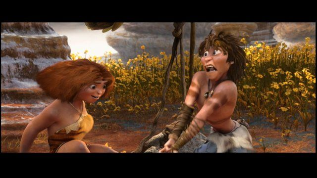 """A little taste of my workflow on DreamWorks Animation's """"The Croods""""."""