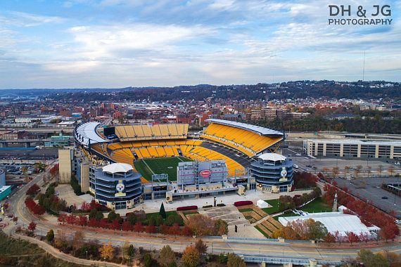 Heinz Field (Pittsburgh Photography, Aerial Pittsburgh, skyline, Steelers, football) Heinz Field from above - home of the Pittsburgh Steelers!