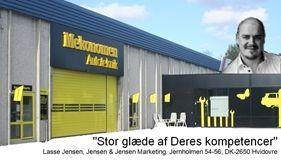En stor tak til Lasse Jensen!    Det er med tak og stolthed, at vi hos Mekonomen Autoteknik - ES Motor i Brøndby hos modtaget denne anbefaling via mail fra Lasse Jensen.    Læs denne, og mange andre vurderinger af vores værksted på Vallensbækvej 6, på vores hjemmeside www.es-motor.dk..