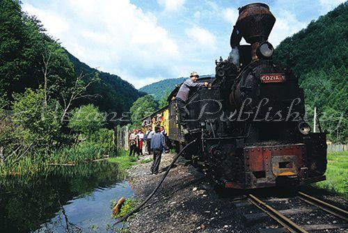 Faimosul tren Mocanita - Maramures