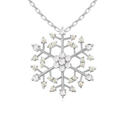 Snowflake Necklace $30.00