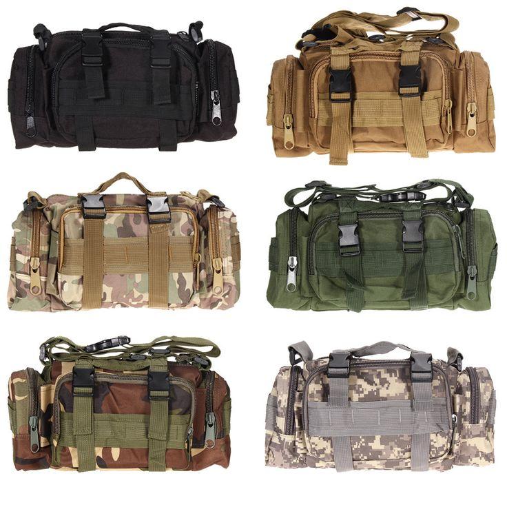 Außen Militärische Taktische Hüfttasche 3L Wass…