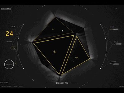 A quick gif of the gameplay for the sixth simulated challenge in the STEM mission. The object of the challenge is to solve the math puzzles to unlock the three levels of security.  You can play thi...